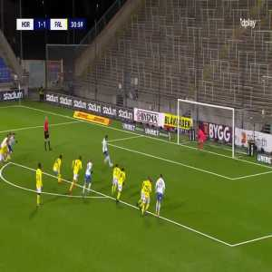 IFK Norrköping [2]-1 Falkenbergs FF - Christoffer Nyman second penalty 32' (Call in comments)