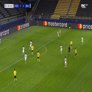 Dortmund 3-0 Club Brugge - Erling Haaland 60'