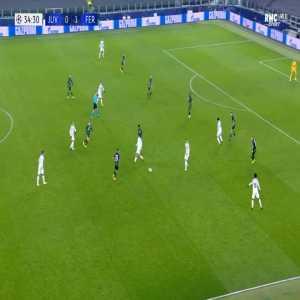 Juventus [1]-1 Ferencvaros - Cristiano Ronaldo 35'