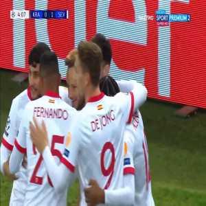Krasnodar 0-1 Sevilla - Ivan Rakitić 4'