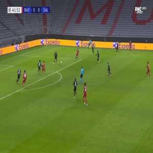 Bayern Munich 1-0 RB Salzburg - Robert Lewandowski 42'