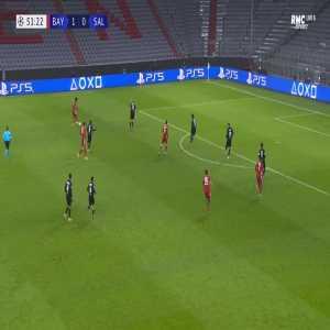 Bayern Munich 2-0 RB Salzburg - Kingsley Coman 52'