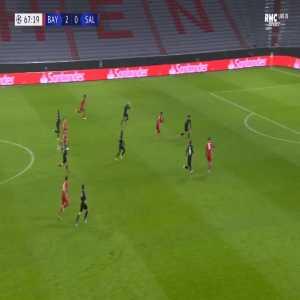 Bayern Munich 3-0 RB Salzburg - Leroy Sane 68'