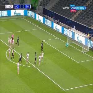 Borussia Mönchengladbach 1-0 Shakhtar Donetsk - Lars Stindl PK 17'
