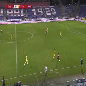 Cagliari 1-0 Hellas Verona - Alberto Cerri 30'