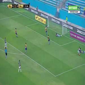 Delfin 0-1 Palmeiras - Gabriel Menino 18'