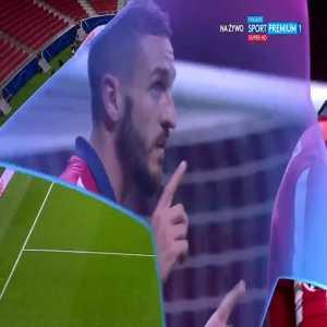 Koke (Atlético Madrid) disallowed goal vs. Lokomotiv Moskva (68')