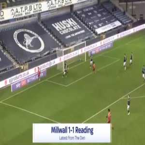 Millwall 1-[1] Reading - Lucas Joao 53'