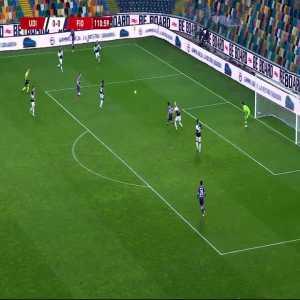 Udinese 0-1 Fiorentina - Tòfol Montiel 112'