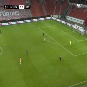 Bayer Leverkusen 2-[1] Hapoel Beer Sheva - Itamar Shviro 58'