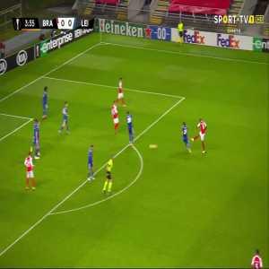Braga [1]-0 Leicester - Al Musrati 4'
