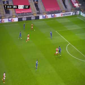 Braga [3]-2 Leicester - Fransergio 90'