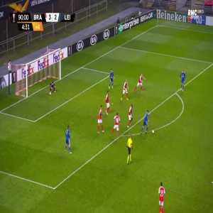 Braga 3-[3] Leicester - Jamie Vardy 90'+5'