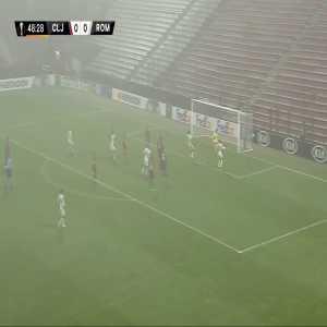 CFR Cluj 0-1 AS Roma - Gabriel Debeljuh OG 49'