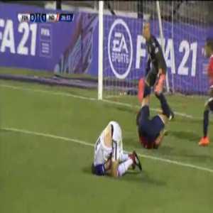 Fenix [1]-1 Independiente - Bryan Olivera penalty 29'
