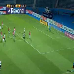 Libertad 1-0 Jorge Wilstermann - Julio Enciso 46'