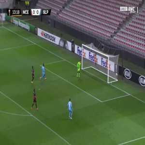 Nice 0-1 Slavia Praha - Ondrej Lingr 14'