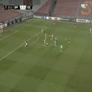 Sparta Praha [2]-1 Celtic - Lukas Julis 38'