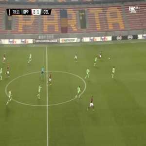 Sparta Praha [3]-1 Celtic - Lukas Julis 80'