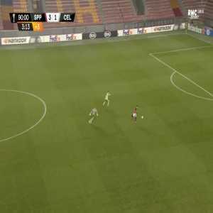 Sparta Praha [4]-1 Celtic - Srdjan Plavsic 90'+4'