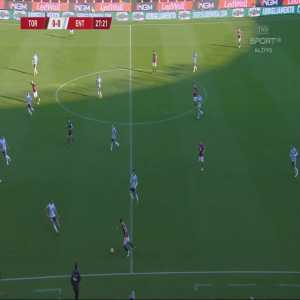 Torino 1-0 Virtus Entella - Simone Zaza 28'