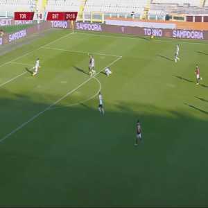 Torino 2-0 Virtus Entella - Federico Bonazzoli 30'