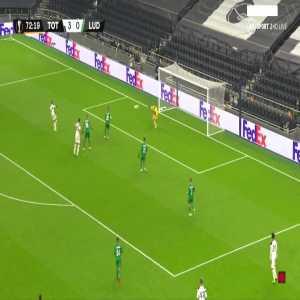 Tottenham [4] - 0 Ludogorets - Lucas Moura 73'