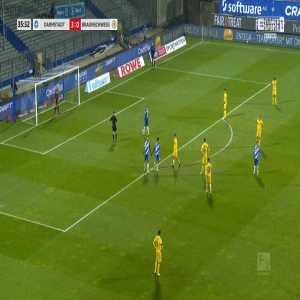 Darmstadt 4-0 Eintracht Braunschweig - Tobias Kempe PK 36'