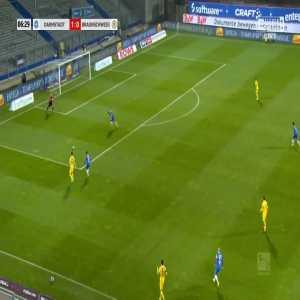 [Ekstraklasaboners] Darmstadt 2-0 Eintracht Braunschweig - Serdar Dursun 7'