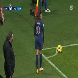 France W 1-0 Austria W - Wendie Renard 11'