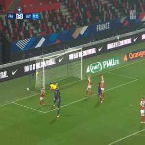 France W 2-0 Austria W - Marie-Antoinette Katoto 27'