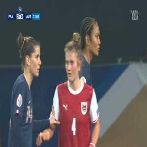 France W 3-0 Austria W - Marie-Antoinette Katoto 73'