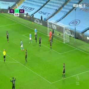 Manchester City [2] - 0 Burnley - Riyad Mahrez 22'