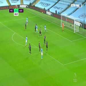 Manchester City [3] - 0 Burnley - Benjamin Mendy 41'