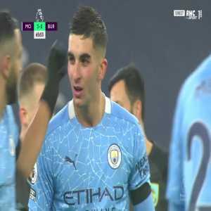 Manchester City [4] - 0 Burnley - Ferran Torres 66'