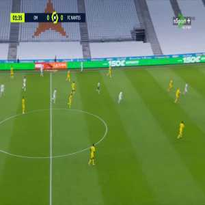 Olympique Marseille 1-0 Nantes - Florian Thauvin 2'