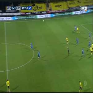 Red Card Thomas Lam 90'+3' (VVV Venlo-[PEC Zwolle])