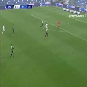 Sassuolo 0-[1] Inter - Alexis Sanchez 4'