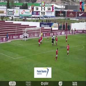 Torreense 3-0 União Santarém | Onyekachi Silas 71' (Portuguese 3rd Division)