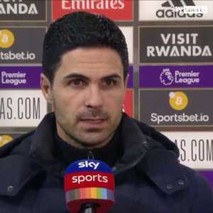 "Arteta: ""They did all the tests for David Luiz and he was completely fine. Really worried for Jimenez, it looked really nasty. We would love to send him our best wishes and love to him"" 