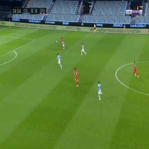 Celta Vigo 0-1 Granada - Luis Javier Suarez 25'