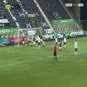Falkirk 0-2 Rangers - Calvin Bassey 30'
