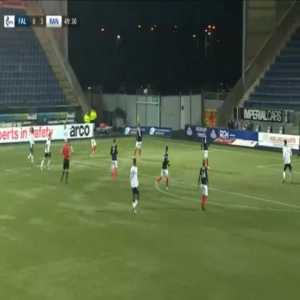 Falkirk 0-4 Rangers - James Tavernier 50'