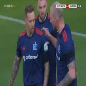 Heidenheim 0-1 Hamburger SV - Sonny Kittel 16'