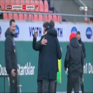Heidenheim [3]-2 Hamburger SV - Christian Kuhlwetter 90'