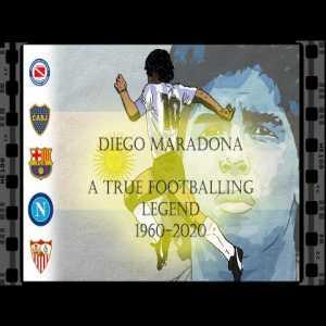 Diego Maradona: A True Footballing Legend [OC]