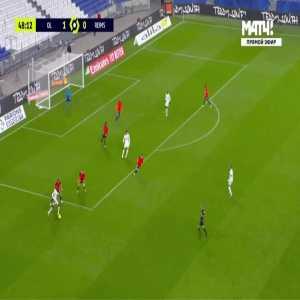 Lyon 2-0 Reims - Bruno 49'