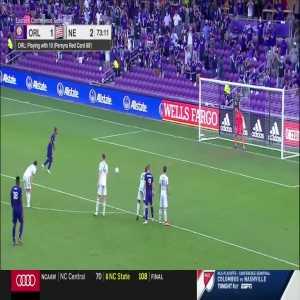 Matt Turner (New England Revolution) penalty save against Orlando City 74'
