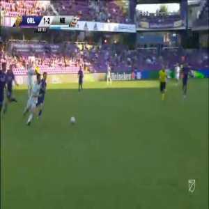 Mauricio Pereyra (Orlando City) straight red card against New England Revolution 60'
