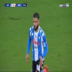 Napoli 1-0 Roma - Lorenzo Insigne free-kick 31'